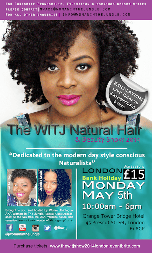 Jessica Lewis aka MahoganyCurls will be guest speaking at the show