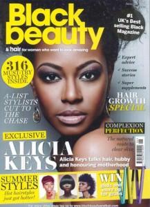 Black Beauty & Hair Magazine cover