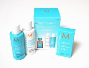 Moroccanoil Hair Repair & Moisture trio gift set