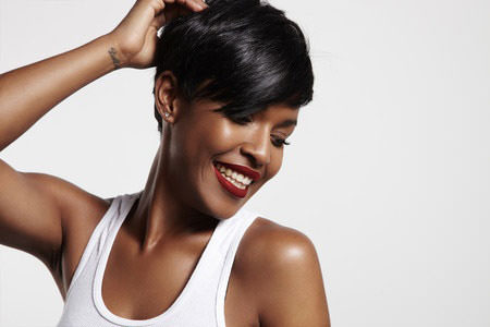 Sophisticated Short Hairstyles for Afro Hair
