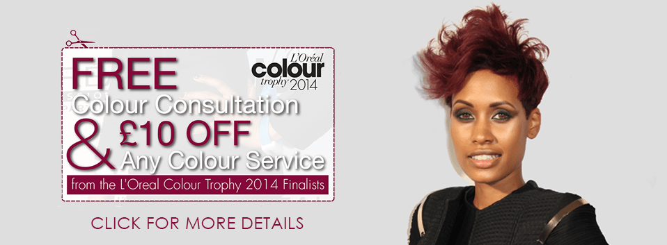 £10 off Any Colour Service
