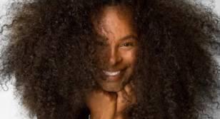 wild afro hair
