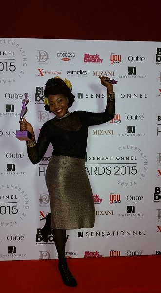 Afrotherapy Success in Black Hair Awards
