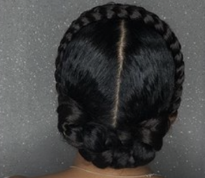 halo braids for afro hair, top afro hair salon in north london