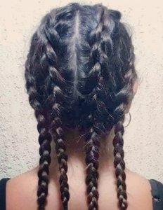 afro dutch braids, black hairdressers in edmonton, north london