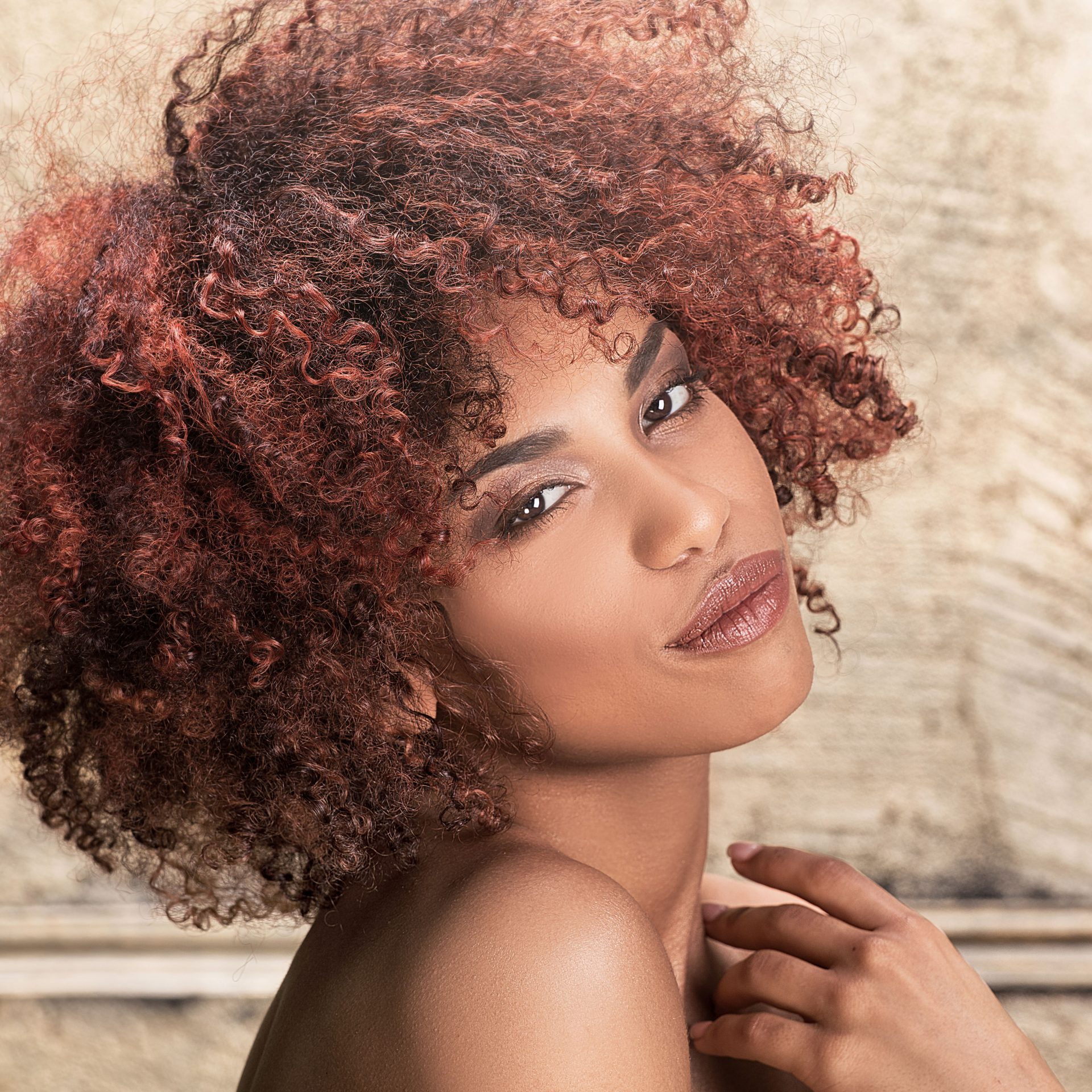 Natural Looking Afro Hair Cuts & Colours
