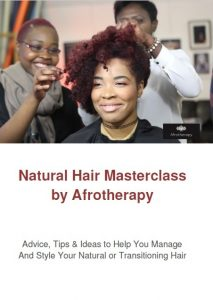 Natural Hair Masterclass Cover
