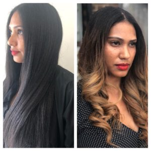 Afrotherapy Hair Colour Transformation, Colouring Afro Hair at Top Afro Hair Salon in Edmonton, London