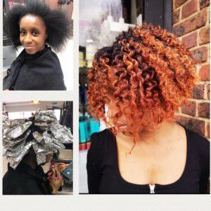 Afrotherapy Colour Transformation, OLAPLEX at Top Afro Hair Salon in Edmonton, London