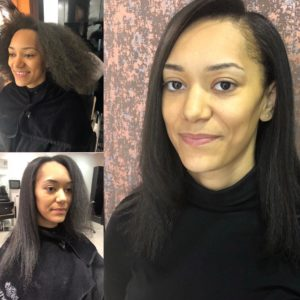 Relaxer Treatments for Afro Hair at Afrotherapy Hair Salon in Edmonton, London