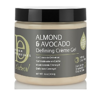 Design Essentials Almond and Avocado Defining Creme Gel (16oz)