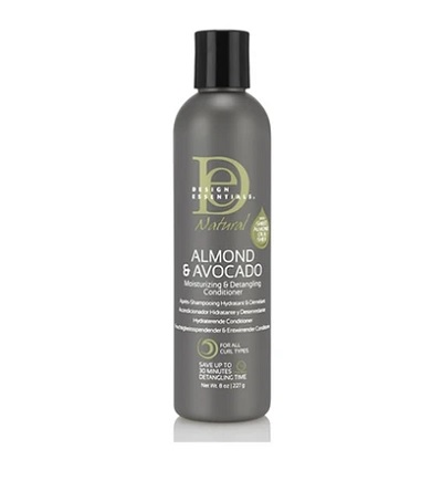 Design Essentials Almond & Avocado Moisturising & Detangling Conditioner (8oz)