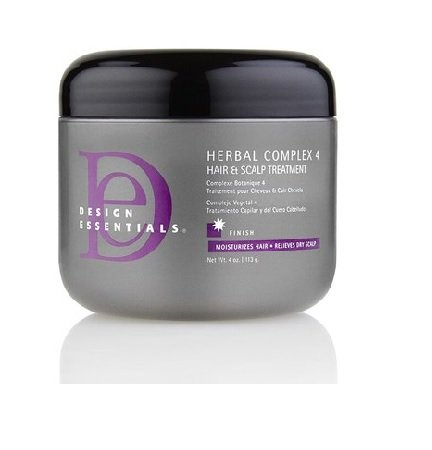 Design Essentials Herbal Complex 4 Hair & Scalp Treatment (4oz)