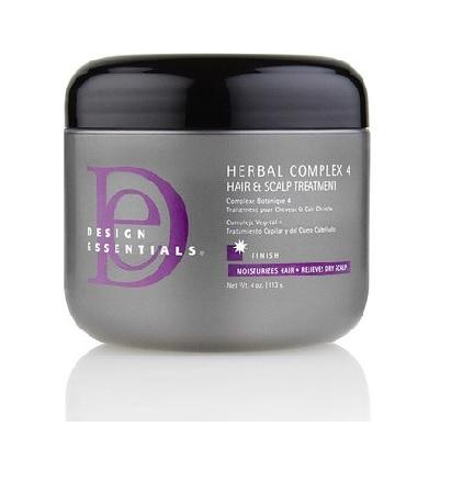 Design Essentials Herbal Complex 4 Hair & Scalp Treatment (4oz)