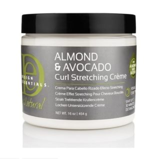 Design Essentials Almond and Avocado Curl Stretching Creme (16oz)