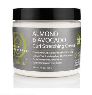 Design Essentials Almond and Avocado Curl Stretching Creme (16oz)