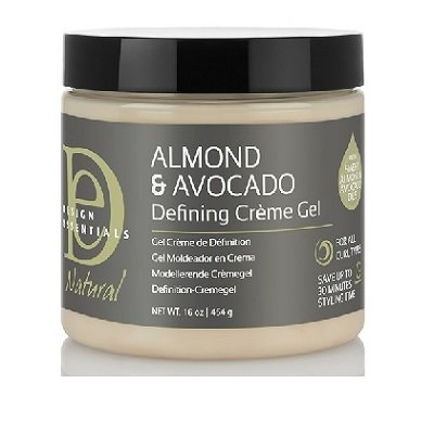 Design Essentials Almond and Avocado Defining Creme Gel (16oz)