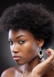 short-afro Afro hairstyle, London