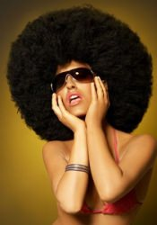classic-afro Afro hairstyle, London