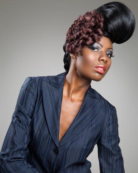 contemporary afro hair, Hair Colour, Afrotherapy Hair Salon in Edmonton, London