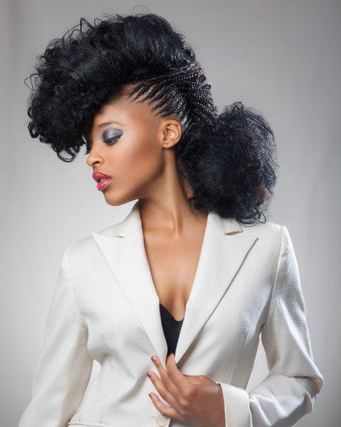 braided afro hair, Hair Colour, Afrotherapy Hair Salon in Edmonton, London