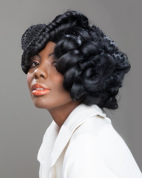 braided afro hairstyles, Hair Colour, Afrotherapy Hair Salon in Edmonton, London