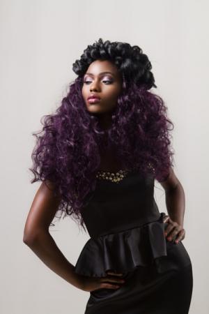 Glamorous Party Hairstyles atAfrotherapy Hair Salon, Edmonton London