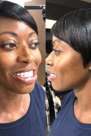 short black hairstyles at afrotherapy hair salon in edmonton, london