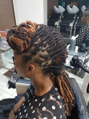 locs styling side